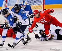 Women's Bronze Medal Game FIN - RUS