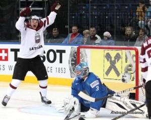 IIHF World Championship 2014  Arturs Kulda #32 , Vitali Yeremeyev #31
