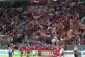 IIHF World Championship 2014   Turjubel Russland