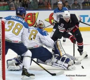 IIHF World Championship 2014   Kevin Dallman #38 , Alexei Ivanov #28 , Jimmy Hayes #10
