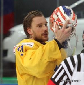 Andres Nilsson - Schweden-Tschechien WM 2014 Copyright:Andreas Robanser