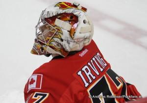Leland Irving - Calgary Flames 2012 © Andreas Robanser/Puckfans.at