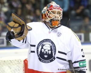 Barry Brust KHL Medvescak Zagreb © Andreas Robanser/Puckfans.at