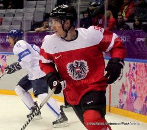 Oliver Setzinger (AUT) #91 Olympic Games 2014 Sochi  © Andreas Robanser/Puckfans.at