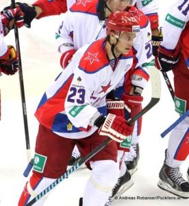 Andrei Stas #23 CSKA Moskau KHL Saison 2013/14 © Andreas Robanser/Puckfans.at
