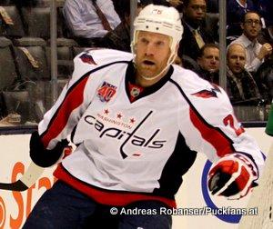 Washington Capitals NHL Saison 2014/2015 Jason Chimera  #25 © Andreas Robanser/Puckfans.at