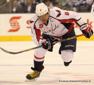 Alexander Ovechkin, Washington Capitals NHL saison 2014/2015 © Andreas Robanser/Puckfans.at
