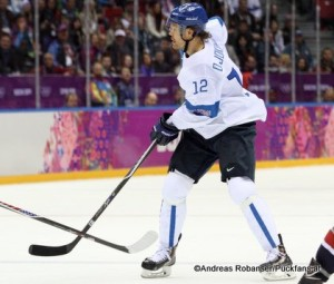 Olli Jokinen (FIN)  Sochi 2014 © Andreas Robanser/Puckfans.at