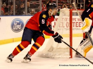 Florida Panthers Saison 2014-15 Aaron Ekblad #5 © Andreas Robanser/Puckfans.at