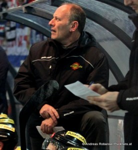 Vienna Capitals  Head Coach Jim Boni  © Andreas Robanser/Puckfans.at