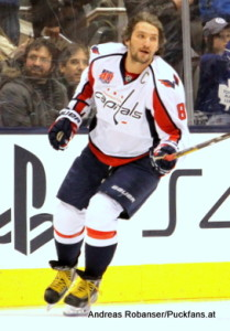 Washington Capitals Alexander Ovechkin #8 © Andreas Robanser/Puckfans.at