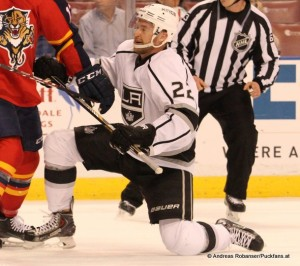 NHL Saison 2014-2015 Los Angeles Kings  Trevor Lewis #22 © Andreas Robanser/Puckfans.at