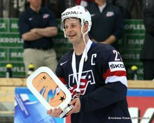IIHF World Championship 2015 Bronze Medal Game USA - CZE Matt Hendricks #23 © Andreas Robanser/Puckfans.at