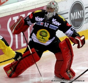 Nathan Lawson #52 Dornbirner EC - EBEL Saison 2014-15 © Andreas Robanser/Puckfans.at