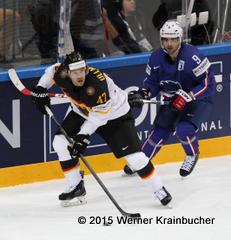 Christoph ULLMANN (GER); Damien FLEURY (FRA) ⒸWerner Krainbucher/Puckfans.at