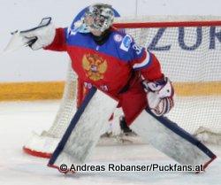 Ilya Samsonov, RUS IIHF U18 World Championship 2015 © Andreas Robanser/Puckfans.at
