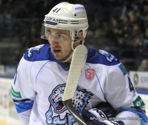 Dustin Boyd #41 Barys Astana KHL Saison 2014-15 ©Puckfans.at/Andreas Robanser