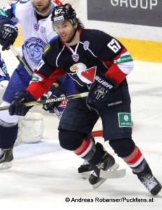 Patrick White, Slovan Bratislava  KHL - Saison 2014/15 ©Puckfans.at/Andreas Robanser