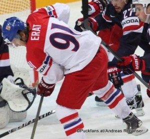 IIHF World Championship 2015 Bronze Medal Game USA - CZE Martin Erat #91 ©Puckfans.at/Andreas Robanser