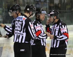 Schiedsrichter  EBEL Saison 2015-16 ©Puckfans.at/Andreas Robanser