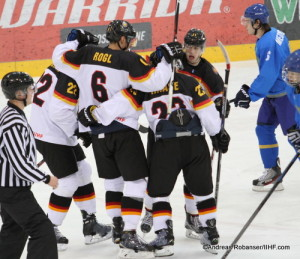 IIHF U20 World Championship Div I Group A Albert Schultz-Eishalle KAZ - GER Andreas Robanser/IIHF.com