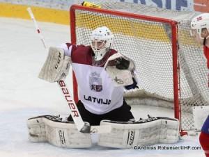 IIHF U20 World Championship Div I Group A Albert Schultz-Eishalle KIVLENIEKS Matiss #1 Andreas Robanser/IIHF.com