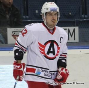 Petr Koukal #42 Avtomobilist Yekaterinburg KHL Saison 2015-16 ©Puckfans.at/Andreas Robanser
