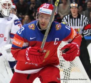 Pavel Datsyuk #13 2016 IIHF World Championship Russia, VTB Ice Palace, Moscow ©Puckfans.at/Andreas Robanser