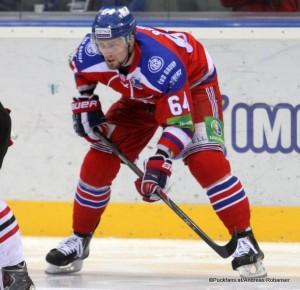 Jiri Sekac #64 Lev Praha, KHL Playoffs 2014 ©Puckfans.at/Andreas Robanser