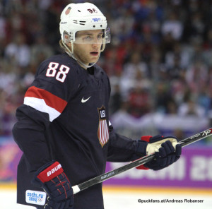 Patrick Kane, Team USA Olympig Games 2014, Sochi ©Puckfans.at/Andreas Robanser