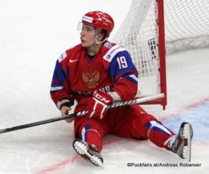 Alexander Khokhlachev #19 IIHF World Juniors 2013 ©Puckfans.at/Andreas Robanser