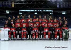 Ivan Hlinka Memorial 2016 Team Canada ©Puckfans.at/Andreas Robanser