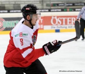 Mario Huber #8 IIHF World Junior Championship 2016 Div I ©Puckfans.at/Andreas Robanser