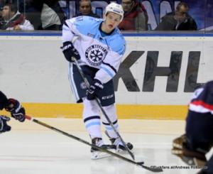 HC Slovan Bratislava - Sibir Novosibirsk Konstantin Okulov #17 Slovnaft Arena ©Puckfans.at/Andreas Robanser