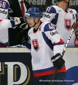 Marek Svatos #40, SVK IIHF World Championship 2010 ©Puckfans.at/Andreas Robanser