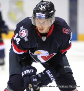 Ziga Jeglic #14 HC Slovan Bratislava ©Puckfans.at/Andreas Robanser