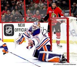 Ottawa Senators - Edmonton Oilers Jonas Gustavsson #50, Mark Stone #61 Canadian Tire Centre, Ottawa ©Puckfans.at/Andreas Robanser