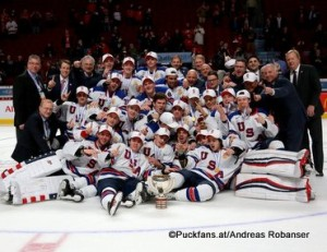 IIHF World Juniors Championship 2017 Gold Medal Game USA - CAN Team USA Centre Bell, Montreal ©hockeyfans.ch/Andreas Robanser