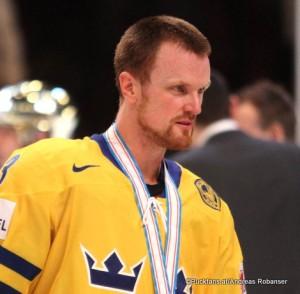 Henrik Sedin #33 IIHF World Championship 2013 ©Puckfans.at/Andreas Robanser