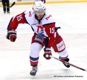 Brandon Kozun #15 Lokomotiv Yaroslavl, KHL 2016-17 ©Puckfans.at/Andreas Robanser