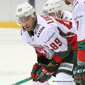 Artyom Lukoyanov #89, Ak Bars Kazan KHL Season 2017-2018 ©Puckfans.at / Andreas Robanser