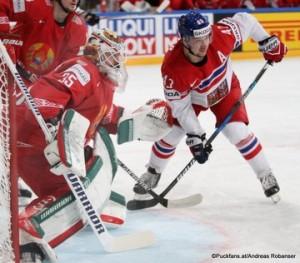 IIHF World Championship 2017 BLR - CZE Kevin Lalande #35, Jan Kovar #43 Paris, Bercy ©Puckfans.at/Andreas Robanser