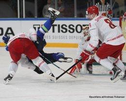 IIHF World Championship 2017 SLO - BLR Ilya Shinkevich #8 Paris, Bercy ©Puckfans.at/Andreas Robanser