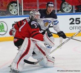 IIHF World Championship 2017 CAN - FIN Mikko Rantanen #96, Calvin Pickard #31 Paris, Bercy ©Puckfans.at/Andreas Robanser