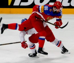 IIHF World Championship 2017 Quarterfinal RUS - CZE Nikita Kucherov #86 Paris, Bercy ©hockeyfans.ch/Andreas Robanser