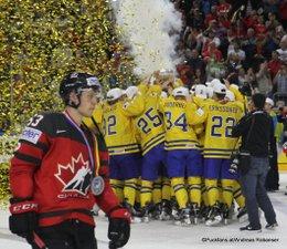 IIHF World Championship 2017 Gold Medal Game CAN - SWE World Champion Team Sweden, Jeff Skinner #53 Köln, Lanxess Arena ©Puckfans.at/Andreas Robanser