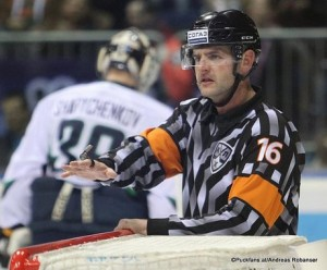 Referee Peter Gebei KHL Season 2016-2017 ©Puckfans.at/Andreas Robanser