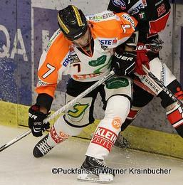 Jesse Jyrkkiö #7, Graz 99ers EBEL Saison 2014-15 ©Puckfans.at/Werner Krainbucher
