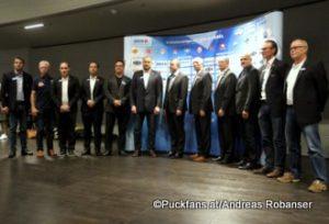 Head Coaches der EBEL Saison 2017-18