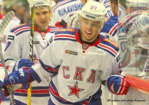 Nikita Gusev #97, SKA St.Petersburg, © Puckfans.at /AR